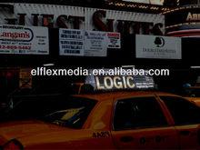 TAXI top advertising EL sign
