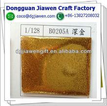 golden color cosmetis glitter powder bulk