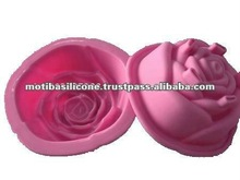 Rose Shape Silicone Cake Mould