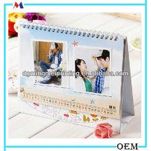 2014 Photo frame Desk Calendar DIY& New design Calendar