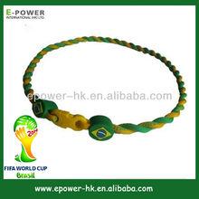 team wristband bracelets/wristbands/necklaces