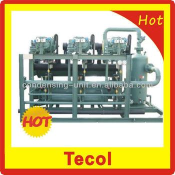 bitzer screw compressor condensing unit