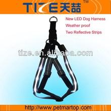 New Style Hotsell Adjustable Lighting Up Dog Harness
