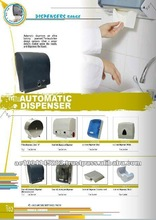 Plastic and Steel Automatic and Manual Soap Dispenser
