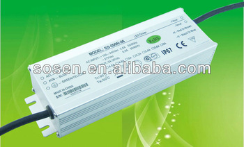 200w LED Driver (SS-200R-36) input 90~277V output 24V-36V constant currrent led dimmable driver/led dimming power supply/led dim