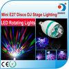 LED bombillas 3w e27 b22 led rotating bulbs lighting RGB e27 led bulbs colorful