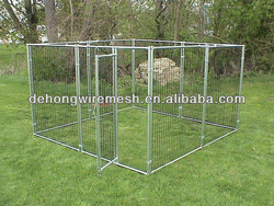 Welded Wire Mesh Temporary Dog Fencing/kennel/house/cage(Factory&Manufacturer)