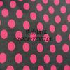 printed polka dot silk fabric