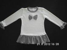 Girls autmn-winter dress 100% cotton