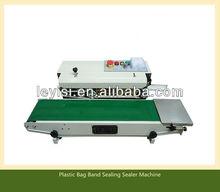 Continuous plastic bag sealing machine datecode heat shrinking sealer,impulse sealer