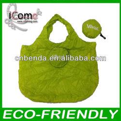Folding Shopping Bag/Foldable Bag/polyester fold up shopping bag