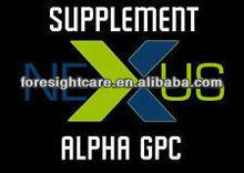 Pure alpha GPC 99% powder / 28319-77-9 Better than Alpha-GPC DMAE Noopept