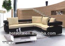 modern fabric ,nicoletti furniture corner leather sofa T812