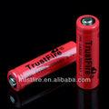 1.5v aa de la batería recargable imr14500 batería recargable para el e- cigarrillos 700 mah trustfire imr14500 li-ion de la célula de la batería