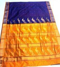 Semi paithani 3 paithani sarees