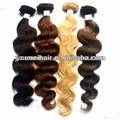 Bon marché de gros de cheveux humains cheveux prime grade/queue de cheval cheveux humains extension