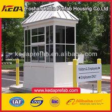 prefab security guard house/sentry box/Prefabricated Guard