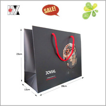 Luxury Cotton Handle Shopping Packing Paper Bag
