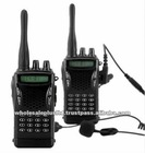 Walkie Talkie Set Professional + Earpiece + PTT Button