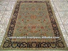 Oriental handmade silk persian rug