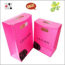 Matt Laminated Pink Fancy Paper Shopping Bag