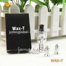 2013 portable glass wax vaporizer cigarette wax vaporizer smoking device with huge vapor cigarette wholesale