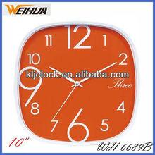 custom made wall clock/crystal wall clock/clocks for sale