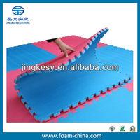 custom density and size foam padding for playground