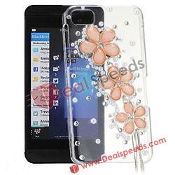 For BlackBerry Cell Phone Skin! #BBZ10-6002K#Flowers Diamond Cell Phone Skin for BlackBerry BBZ10