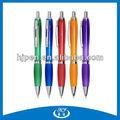 Multi cor caneta esferográfica de plástico, Material de escritório canetas, Amostra escritório lista da fonte