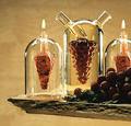 Wholesale oil and vinegar glass bottle Modern oil bottle decorative cruet galss bottle