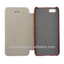 2013 Newest fashion imitation leather case for iphone5c