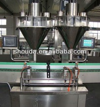 Factory price automatic glass bottle baby powder filling machine with CE,ISO
