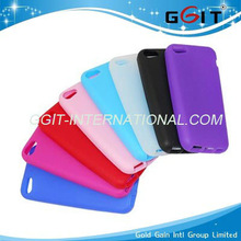 New Arrival Pure Color Silicon Protector For iPhone 5C Silicon Case