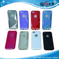 S Cover For iPhone5, S style TPU Case for iphone 5, 5G TPU Case