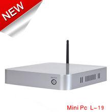 Home Entertainment Multimedia PC micro atx XCY L-19 small cpu E240 1GB RAM 8GB SSD support win 7 mini atx case