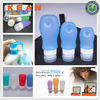 Cream Jars Cosmetic/Leak-proof FAA Civilized Silicone Travel Tube Mini Sanitizers/Condiment Container&Bottle