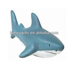 Free Great White Shark stress ball/2014 Hot Sell Stress PU Foam Man/Hot Sell New Mini Pu Foam Stress Beetle