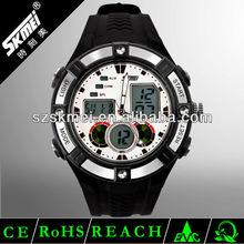 2012 vogue watch Dual Time Plastic Analog Digital Watch