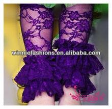 Promotion leg warmer with ruffles,chevron leg warmer & Arm Warmers Socks wholesale