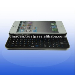 new slider backlight wireless keyboard case for iphone 5