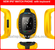 IP67 wateproof best outdoor cell phone with BT single sim