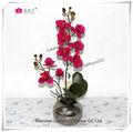 Orquídeas falsos real toque flores de seda atacado para venda