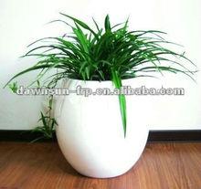 Durable purple flower pot