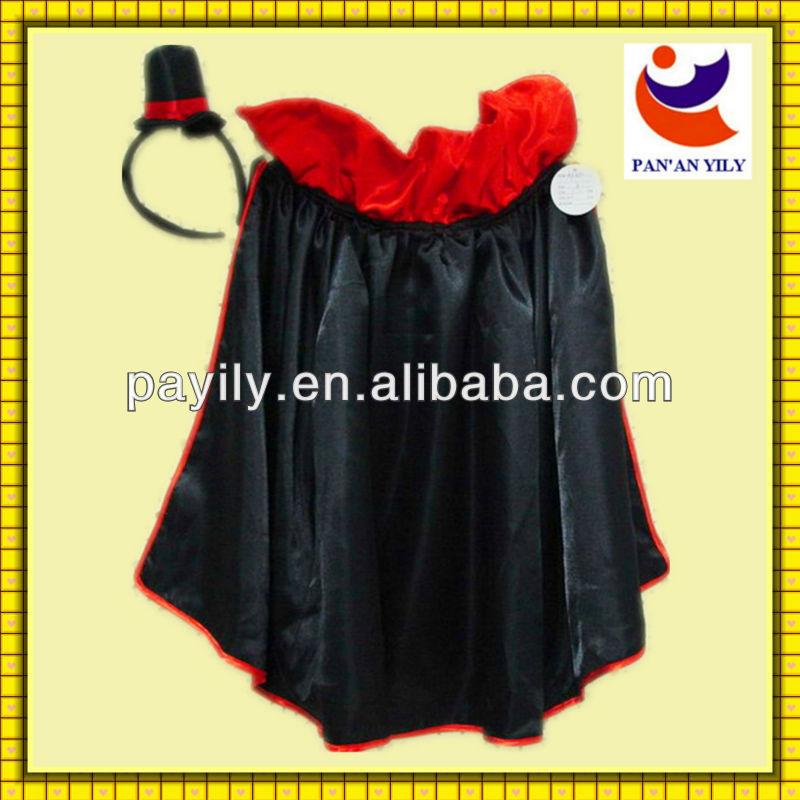 factory sale satin material cloak suit halloween costumes bulk