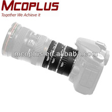 Mcoplus micro copper tube for hair extension tube canon lens metal