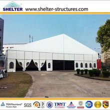 40m span heavy duty fabricatd hall for football for sale