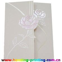 2015 supply high quality wedding invitation card printing service