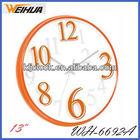 13 inch large office wall clock/diy plastic clock