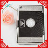 2013 new products rhinestone crystal skin leather case cover for ipad mini